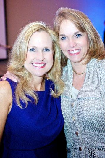 Deneen Turner with Ann Gilliland, Children\'s Art Coordinator
