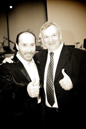 Lee Greenwood with Yuri Yakovlyev